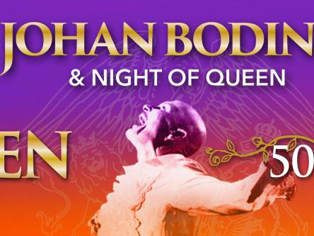 INSTÄLLT - Johan Boding & Night of Queen