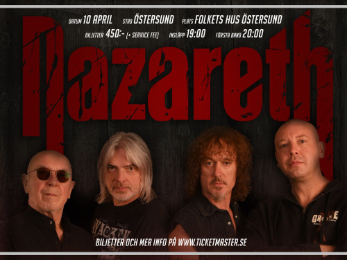 Nazareth - Nytt datum våren 2021